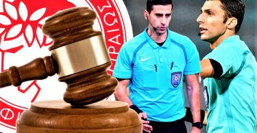 Ολυμπιακός: Μήνυση και αγωγή στους διαιτητές και επανάληψη του αγώνα